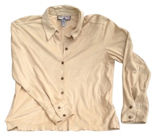 Caribbean Joe Button Down Shirt tan, light yellow