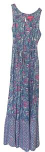 Blue and Pink Maxi Dress by Lilly Pulitzer for Target