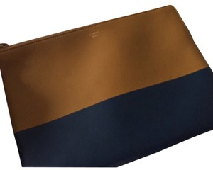 Céline Tan And navy Clutch