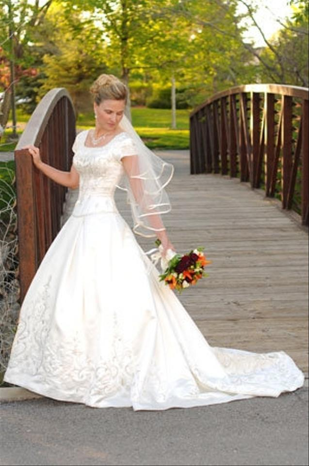 Click to zoom for Latter day bride wedding dresses