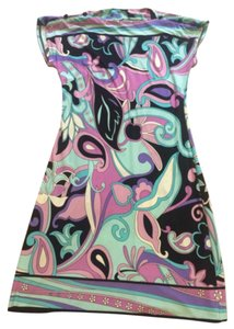 Donna Morgan short dress Multi colored on Tradesy