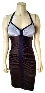 BCBGMAXAZRIA Silk Size 2 Stretch Sleeveless Knee Length New With Tags $280 P1648 Dress