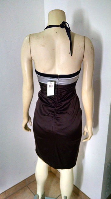 BCBGMAXAZRIA Silk Size 2 Stretch Sleeveless Knee Length New With Tags P1648 Dress