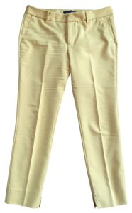 Zara Trouser Pants Yellow