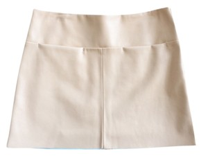 Zara Italian Mini Skirt Light Pink
