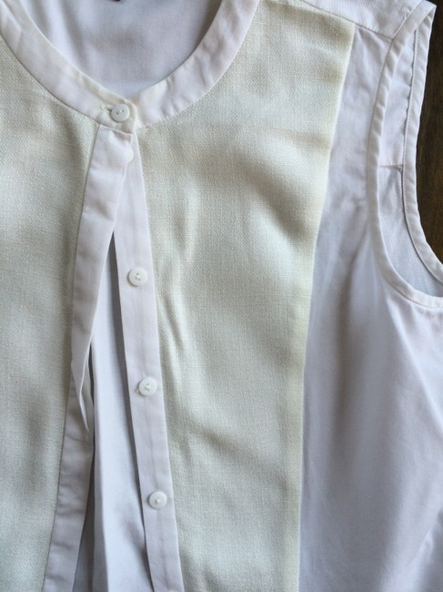 Tibi New York Top White