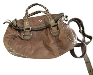 Lucky Brand Satchel in Reddish Brown