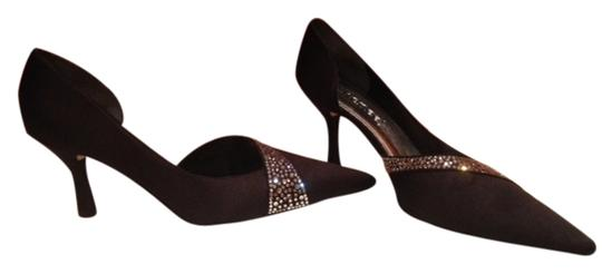 J. Renee Satan Rhinestones Black Formal