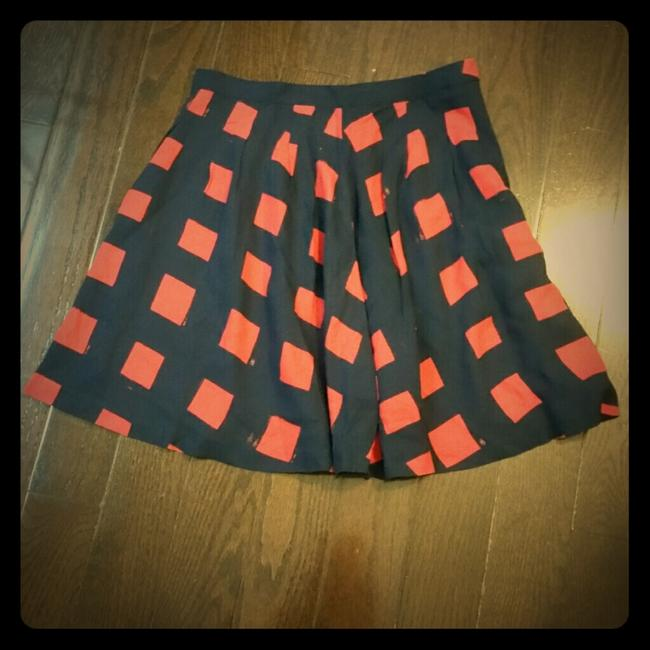 Gap Mini Skirt navy/coral red