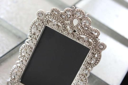 Preload https://item4.tradesy.com/images/10-small-vintage-style-jeweled-rhinestone-gatsby-bling-silver-diamond-table-number-frame-ornate-pict-5410108-0-0.jpg?width=440&height=440
