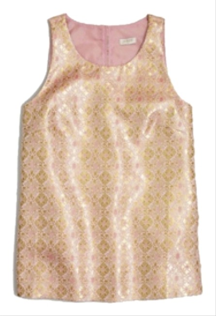 Preload https://item3.tradesy.com/images/jcrew-pink-and-gold-blouse-size-2-xs-5410147-0-0.jpg?width=400&height=650
