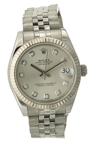 Rolex Rolex 31MM Datejust - Stainless Steel - Original Diamond Dial
