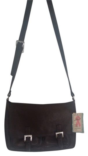 Preload https://item2.tradesy.com/images/stone-mountain-accessories-riverhead-brown-leather-shoulder-bag-5410606-0-1.jpg?width=440&height=440