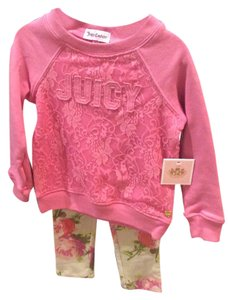 Juicy Couture Size 2T little girl set
