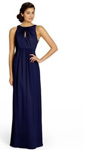 Jim Hjelm Indigo (Navy) Jim Hjelm Bridesmaid Dress Chiffon Jh5350 Dress