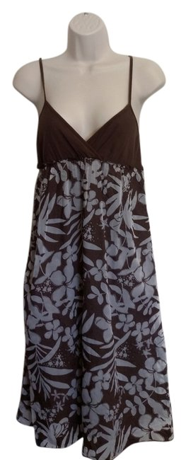 Preload https://item2.tradesy.com/images/roxy-brown-floral-print-knee-length-short-casual-dress-size-8-m-5410771-0-0.jpg?width=400&height=650
