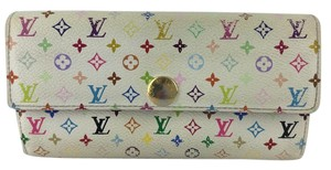 Louis Vuitton Louis Vuitton Portefeiulle Sara Multicolor Bifold Long Wallet