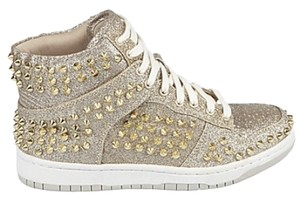Steve Madden Sneakers Gold Glitter Athletic