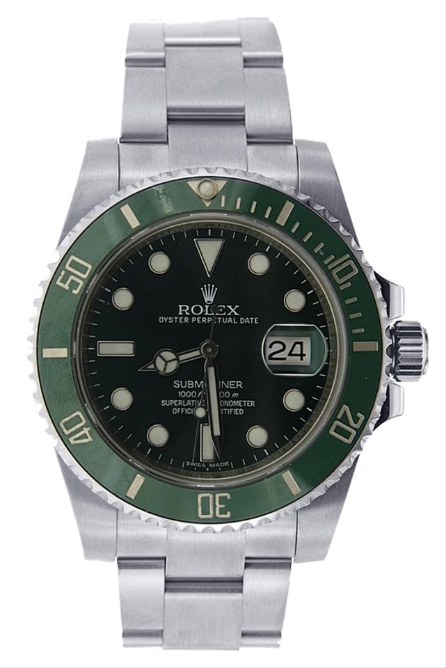 Rolex submariner green bezel retail price for Retail price watches