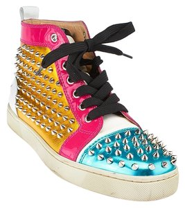 Christian Louboutin Louis Spike Sneakers Multicolor Athletic