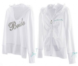 Victoria's Secret Ring Wedding Jacket Sweatshirt