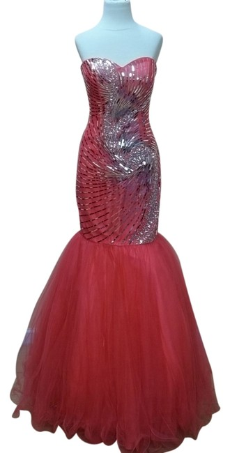 Preload https://item3.tradesy.com/images/impression-bridal-watermelon-30484-long-formal-dress-size-4-s-541152-0-0.jpg?width=400&height=650