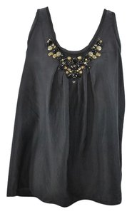 MICHAEL Michael Kors #beaded #embellished #silk #silktop Top Black beaded