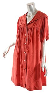 DKNY short dress Red Hooded on Tradesy