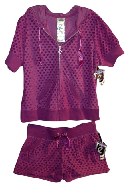 Ellemenno Mini/Short Shorts purple