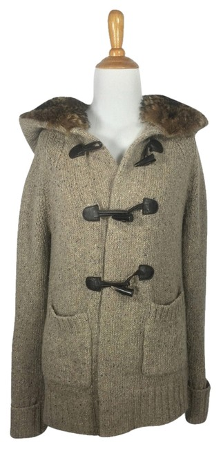 Preload https://item1.tradesy.com/images/massimo-dutti-taupe-woolangora-blend-coat-with-fur-lined-hood-sweaterpullover-size-6-s-5412115-0-0.jpg?width=400&height=650