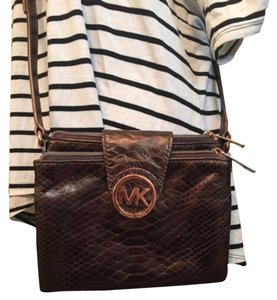 Michael Kors Brown Cross Body Bag