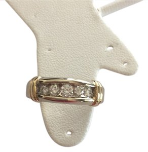 Other STEAL+Wholesale 14k 2/3 ct diamond wedding engagement unisex band ring