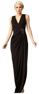 Robert Rodriguez Beaded Jersey Gown Dress