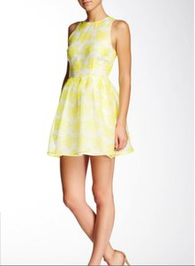 BB Dakota Floral Organza Tea Dress