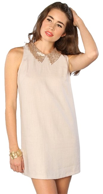 Finders Keepers short dress Ivory on Tradesy