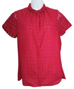 LAVIA Made In Italy Eyelet Cotton Top