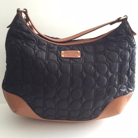 Kate Spade Hand Bags Leather Bags Purses Bags Satchel in Black and Cognac