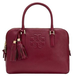 Tory Burch Satchel in Cabernet