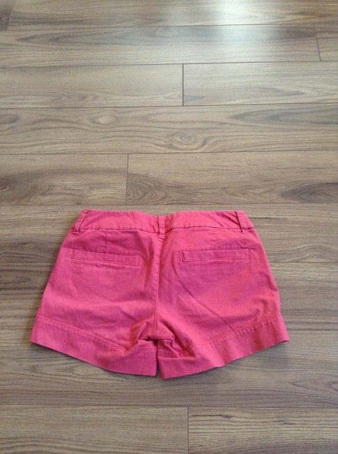 American Eagle Outfitters Cuffed Shorts Salmon/coral