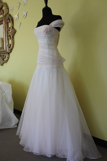 Le Spose di Giò Other Organza C11 21 Feminine Wedding Dress Size 4 (S)