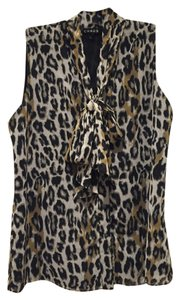 Chaus Leopard Top Black