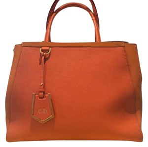 Fendi Satchel in Orange