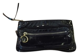 Chloé Black Patent Leather Designer Chloe Clutch