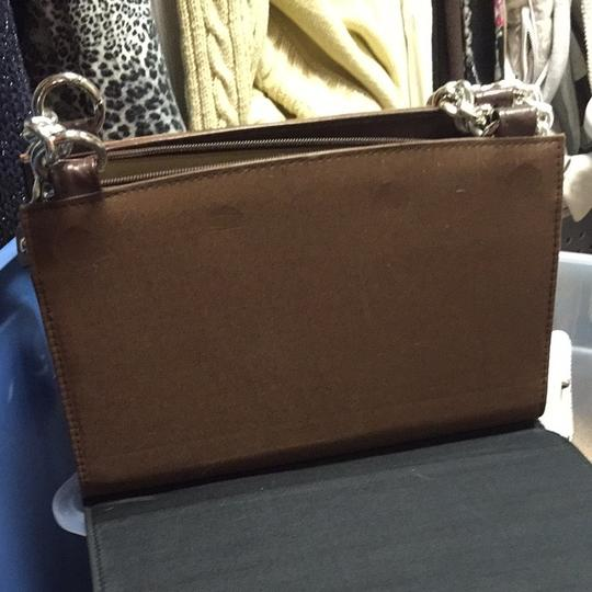 MICHE Brown And Black Clutch