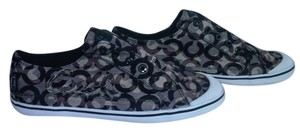 Coach Signature Slip On Sneakers Brown, Green (camo) Athletic