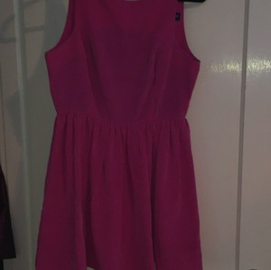 American Apparel short dress Pink, magenta on Tradesy