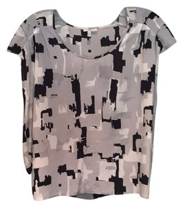 Joie Top Black, grey, white