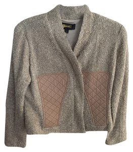 Greylin Beige, copper and a darker pinky tan Jacket