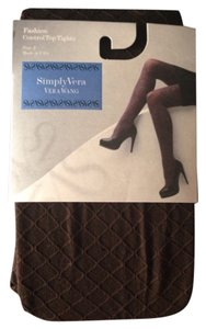 Simply Vera Vera Wang Fashion Control Top Tights