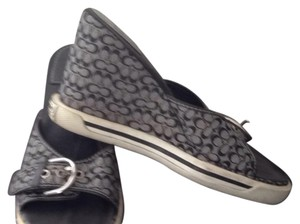 Coach Black And White Sandals - item med img